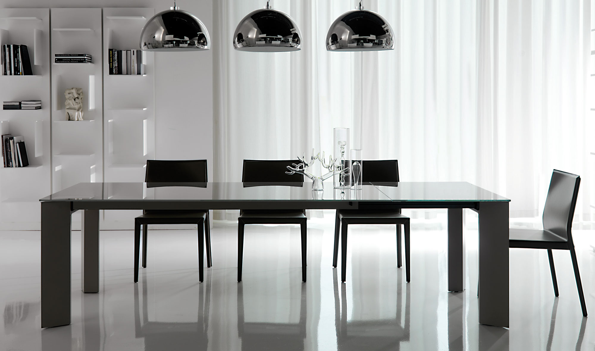 Mesa de comedor extensible brera cattelan no disponible en for Comedor extensible