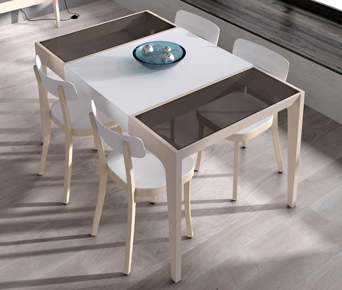 Mesa de comedor extensible moderna dande no disponible en for Mesa extensible moderna