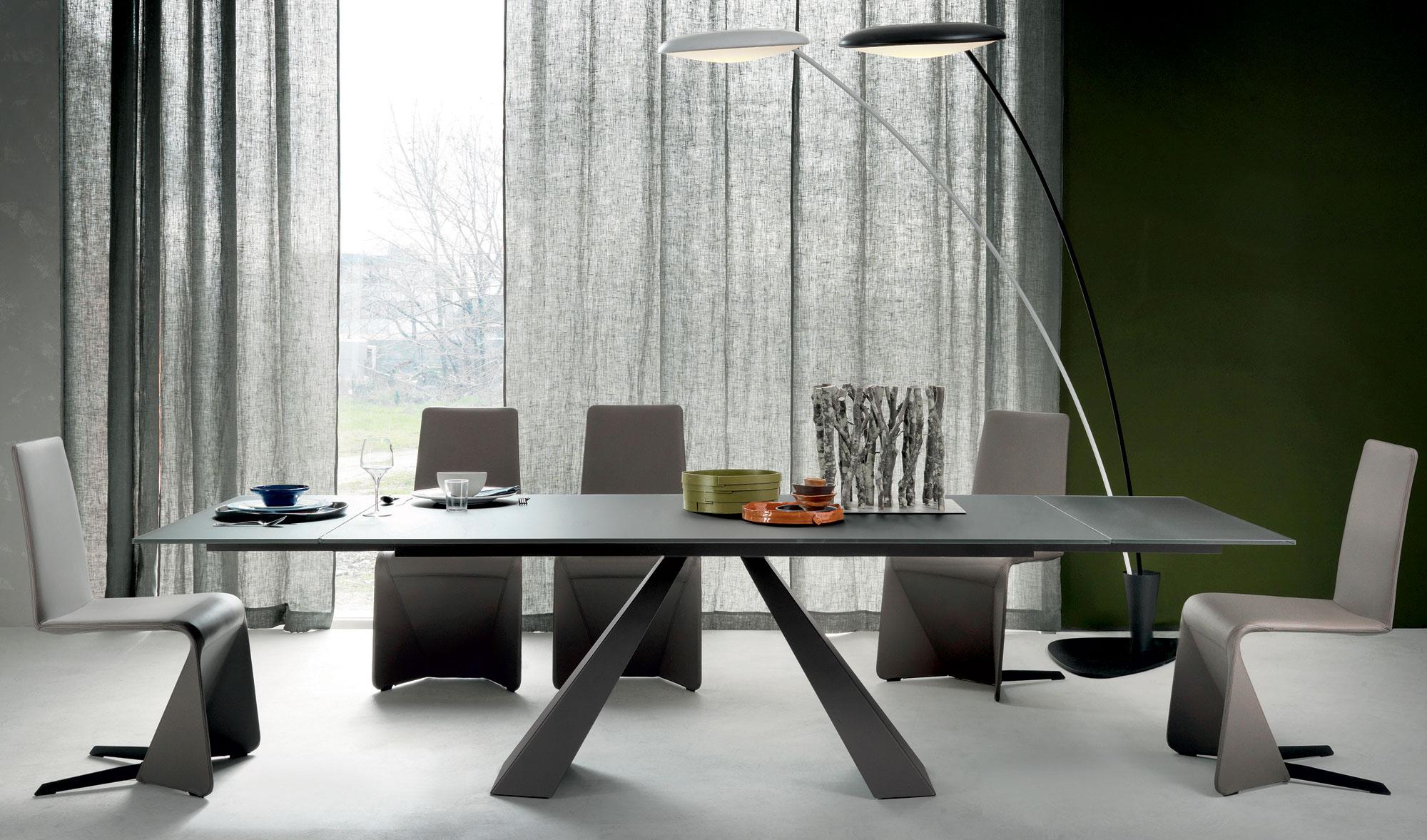 Mesa de comedor extensible moderna Eliot Cattelan de lujo en ...