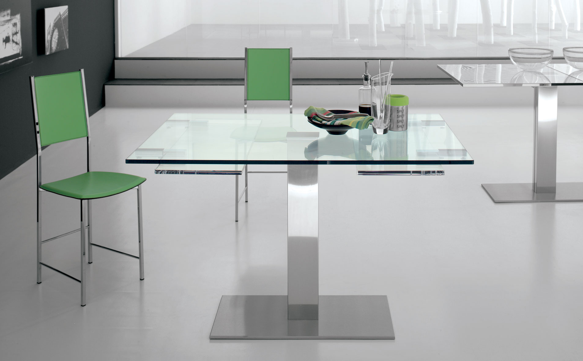 Mesa de comedor extensible moderna elvis no disponible en for Mesa comedor extensible moderna