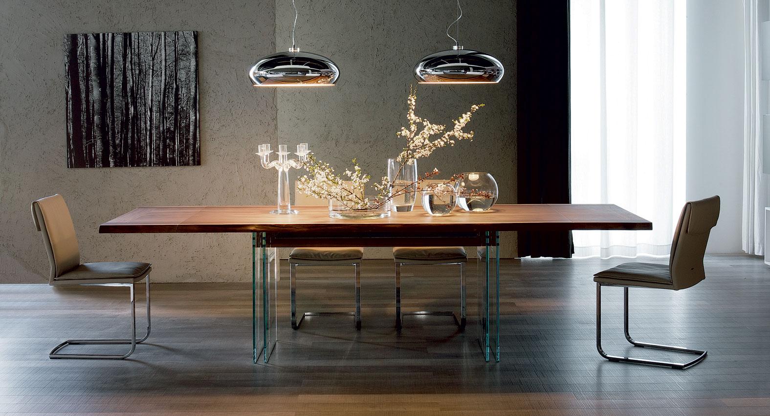 Mesa de comedor extensible moderna Ikon Cattelan de lujo en ...