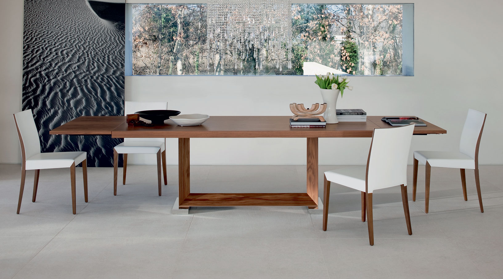 Mesa De Comedor Extensible Monaco Cattelan No Disponible En