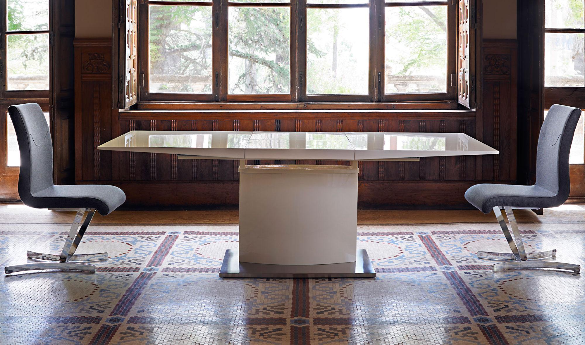 Mesa de comedor extensible moderna nexus no disponible en - Mesa comedor extensible moderna ...