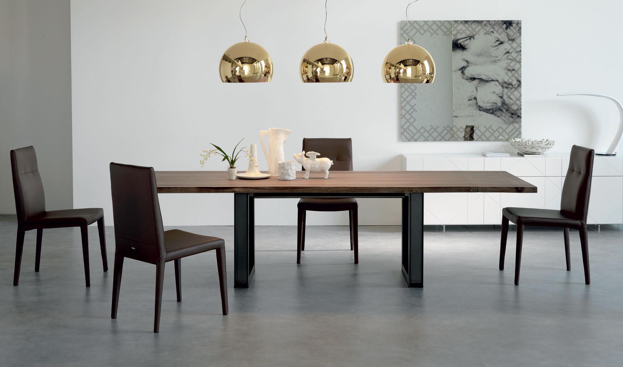 Mesa de Comedor Madera de comedor extensible moderna Sigma Cattelan