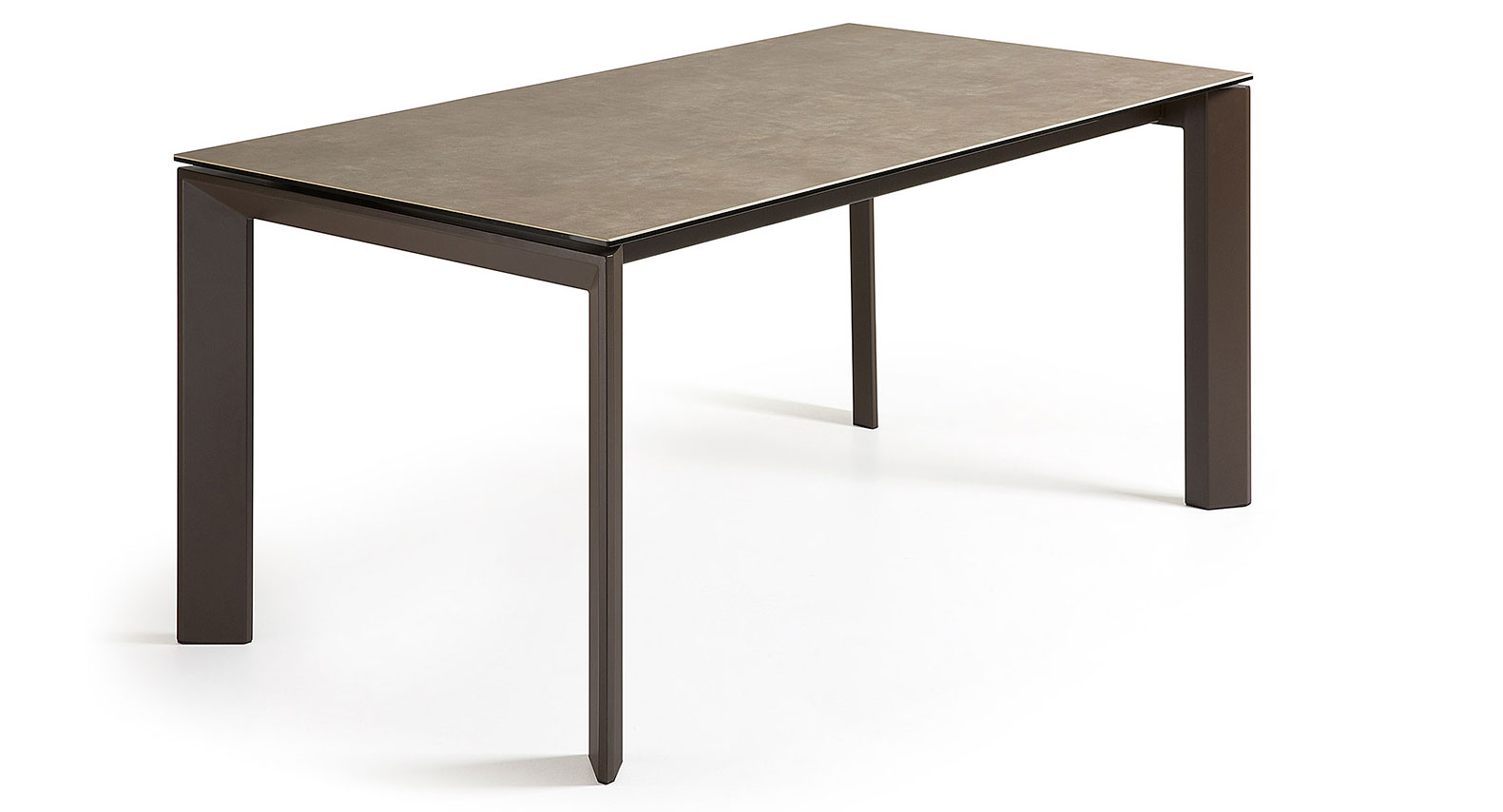 Mesa comedor extensible vulcano humo no disponible en for Mesa comedor extensible