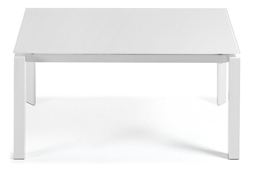 Mesa comedor extensible moderna kila en for Mesa comedor ovalada blanca