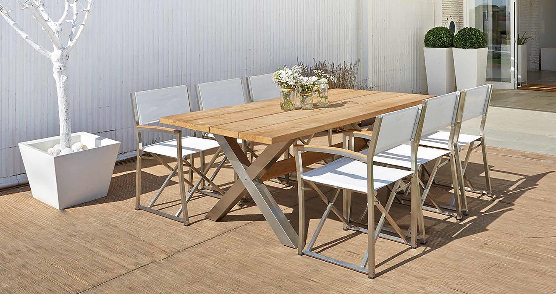 Mesa de comedor jard n nautic en for Decoracion muebles jardin