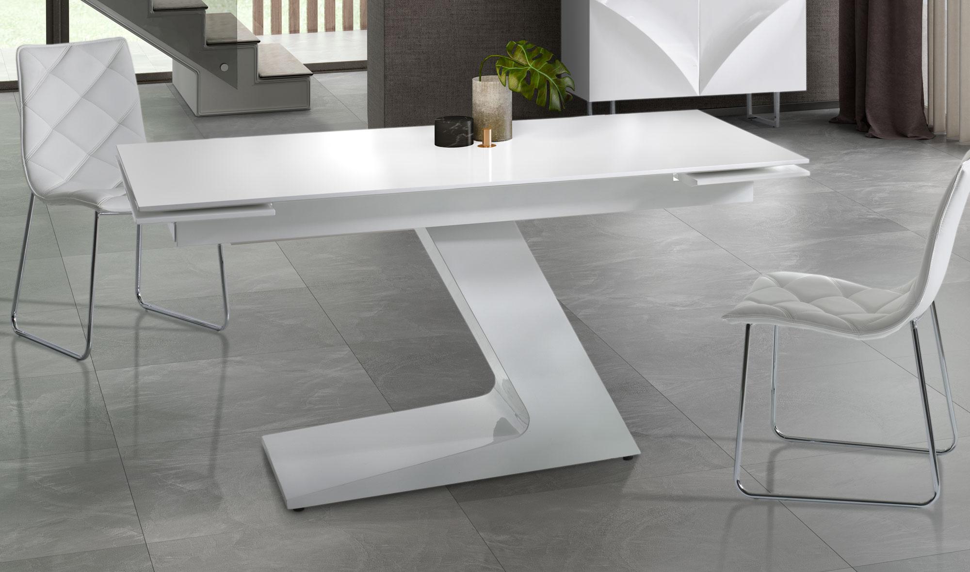 Mesa de comedor extensible moderna tamir no disponible en - Mesa comedor extensible moderna ...