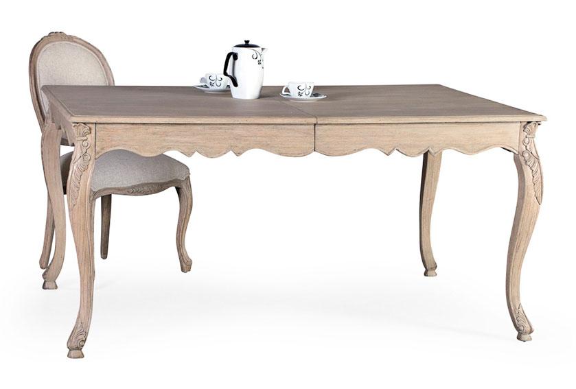 Mesa comedor extensible vintage Artisan de lujo en ...