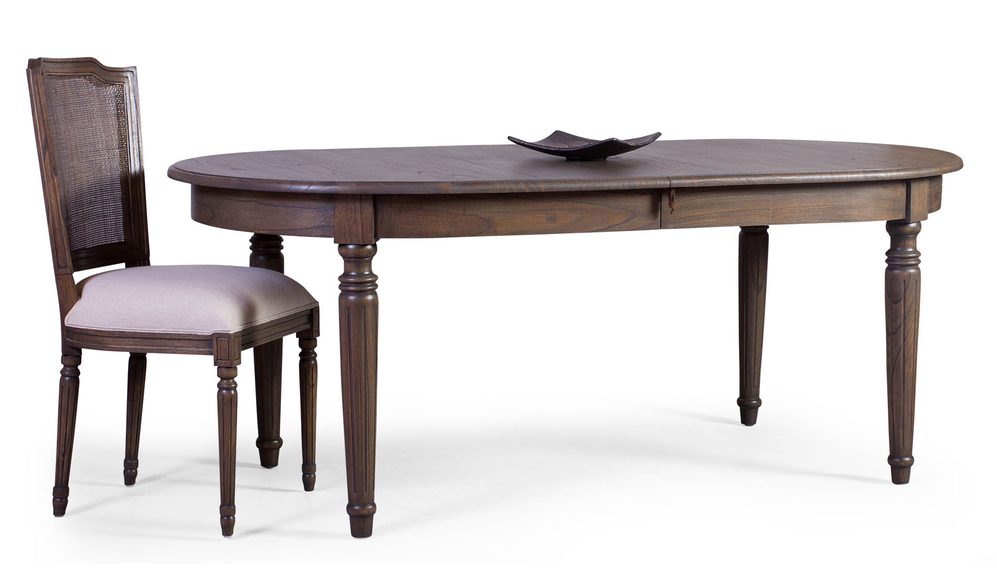 Mesa comedor extensible vintage chateau no disponible en for Muebles de comedor mesas