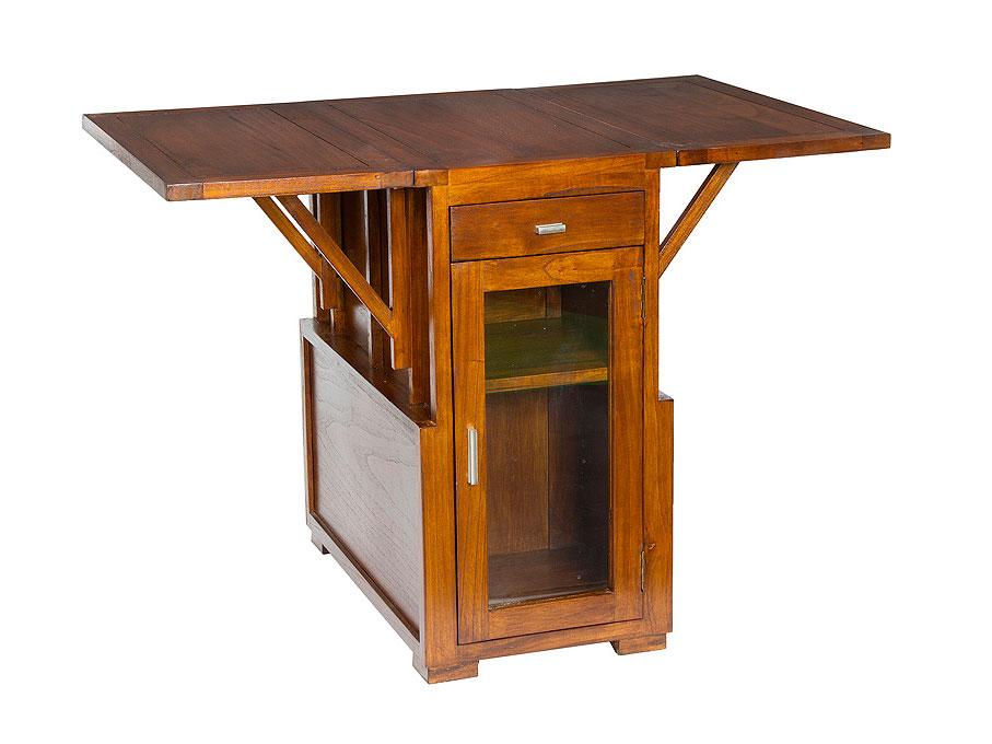 Mesa de comedor plegable maamy en for Muebles de comedor mesas