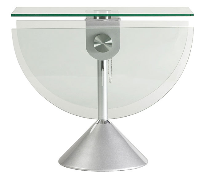 Mesa de comedor plegable cristal no disponible en for Mesas redondas de cristal