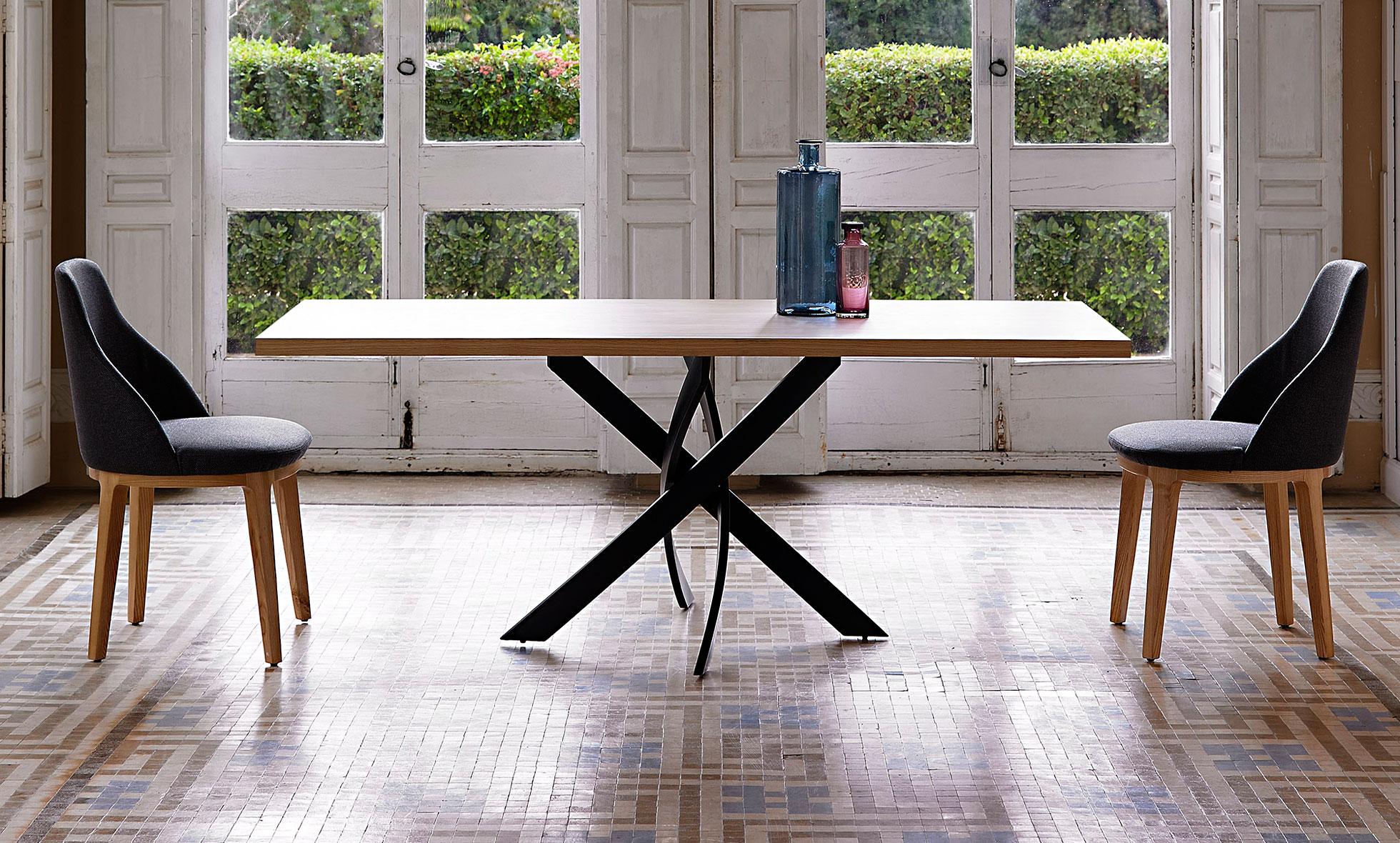 Mesa comedor rectangular moderna xenon en - Mesa de comedor ...