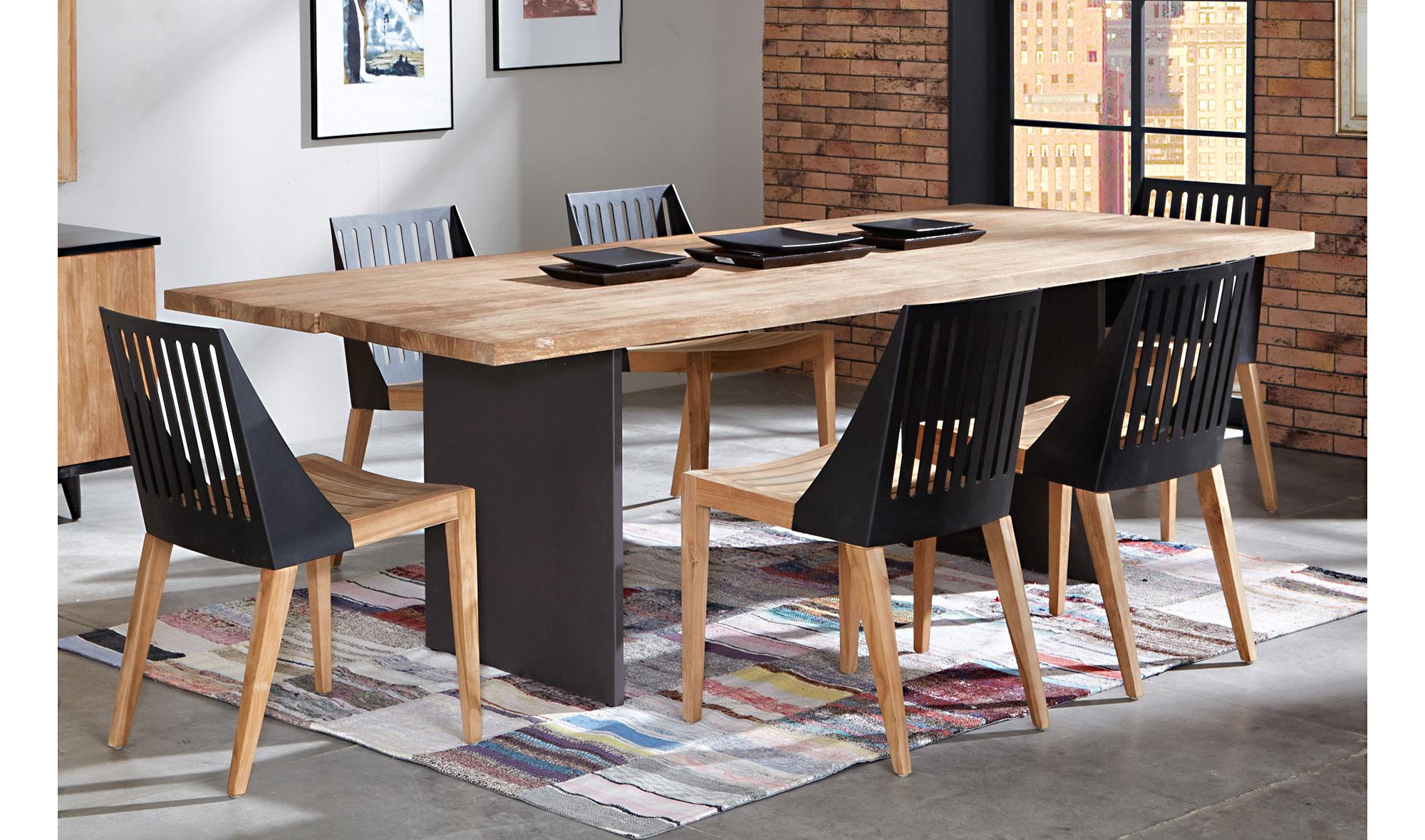 Mesa de comedor vintage arthur de lujo en portobellodeluxe - Muebles de comedor vintage ...