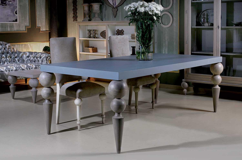 Mesa de comedor vintage plemy de lujo en portobellodeluxe - Muebles de comedor vintage ...