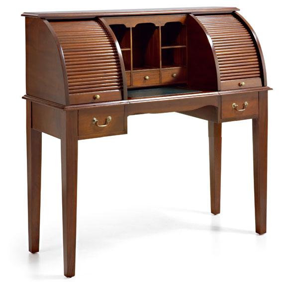 Mesa de escritorio 2 persianas vintage marty en - Persianas para muebles ...