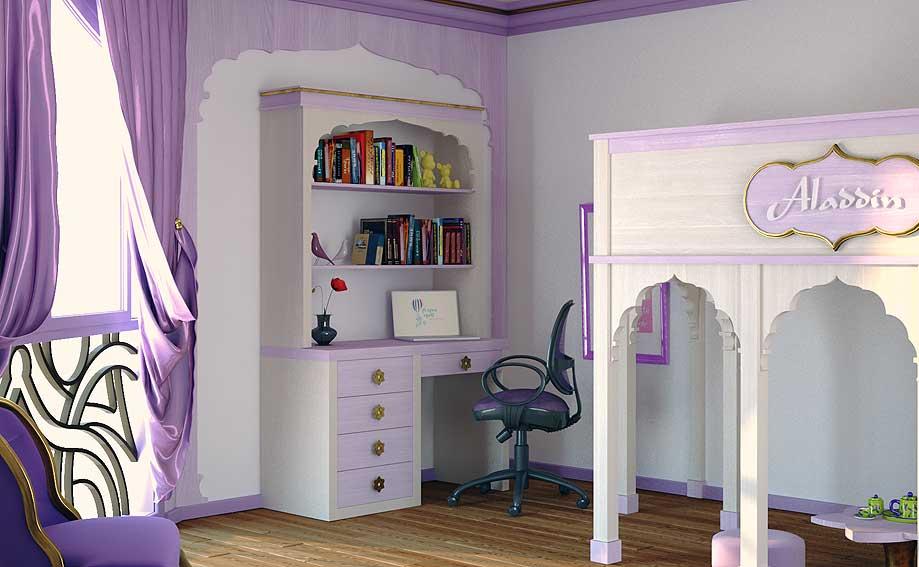Mesa de escritorio Aladin en Portobellostreet.es