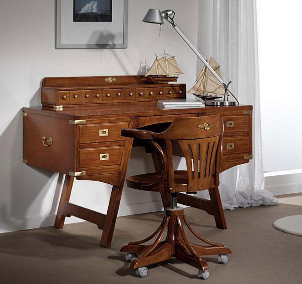 Mesa de escritorio camarote a en for Muebles escritorios clasicos