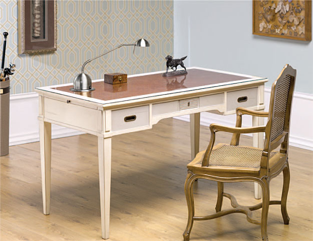 Mesa de escritorio vintage hera en - Escritorio salon ...