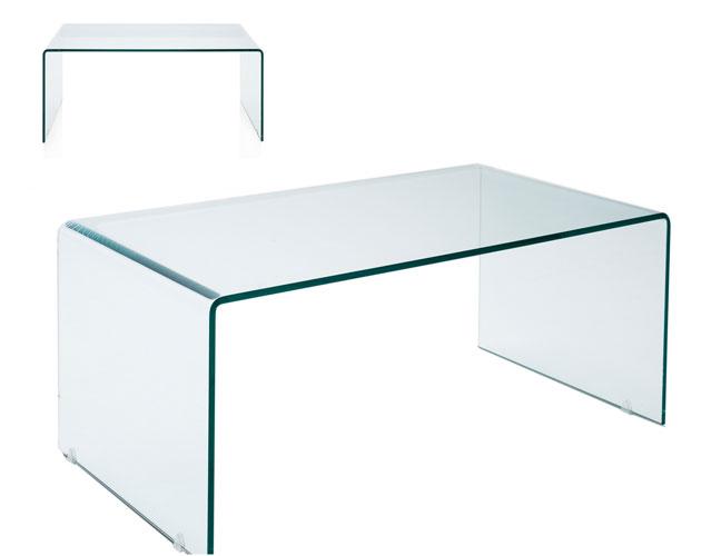 Mesa de escritorio cristal doblado no disponible en for Mesa cristal ikea escritorio