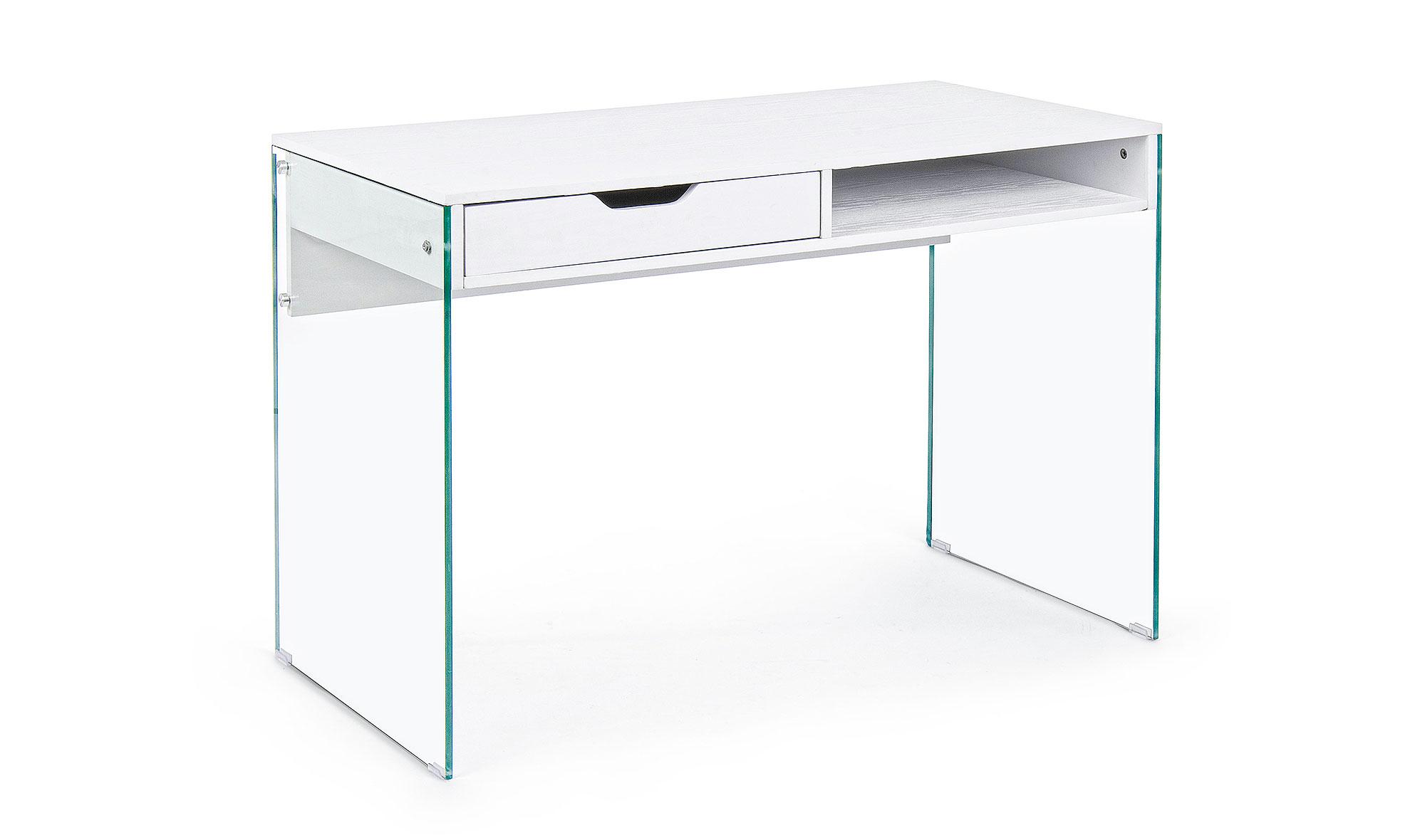 Mesa de escritorio dise o armos blanco en cosas de for Mesas escritorio diseno