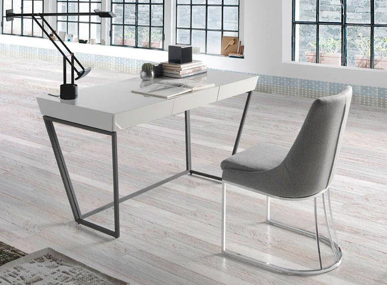 Mesa de escritorio moderna simo en for Mesa escritorio moderna