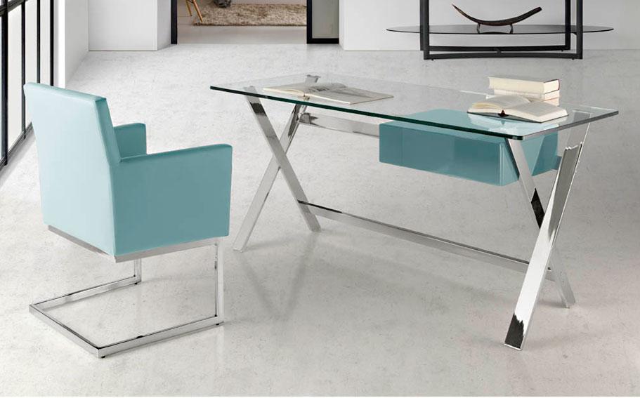 Mesa de escritorio moderna sojon en for Mesa escritorio moderna