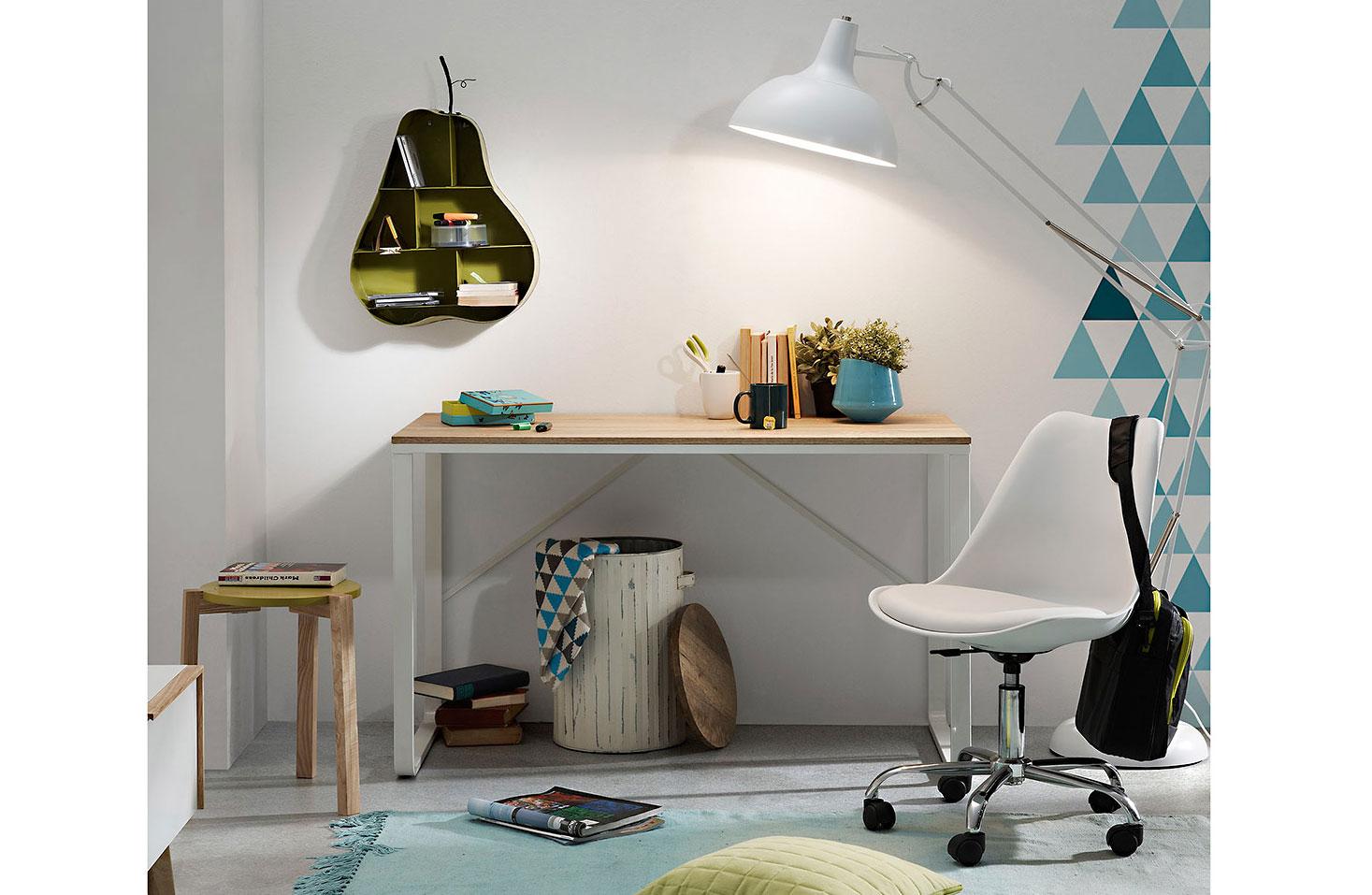 Mesa de escritorio n rdica talbot en - Escritorio salon ...