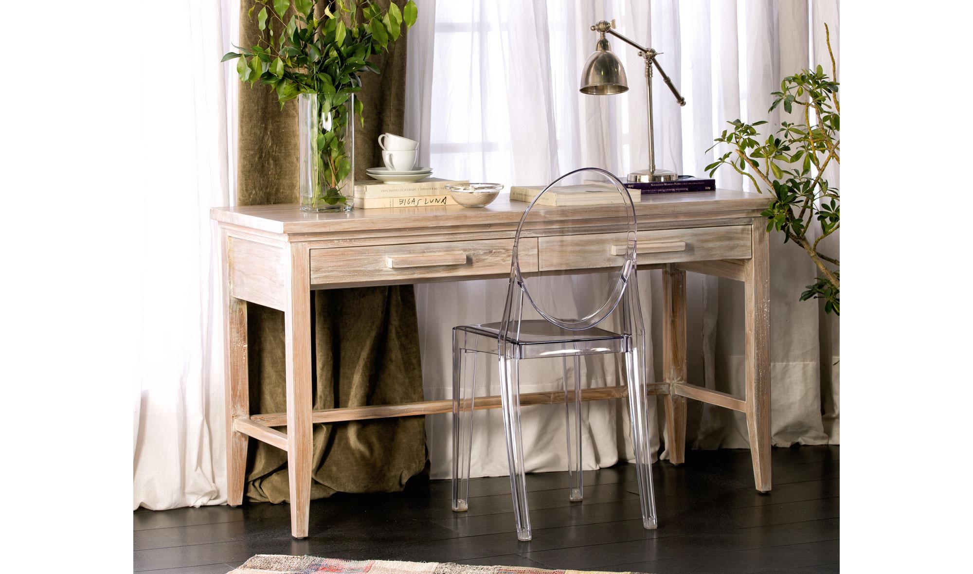 Mesa de escritorio vintage lyra en - Escritorio vintage ...