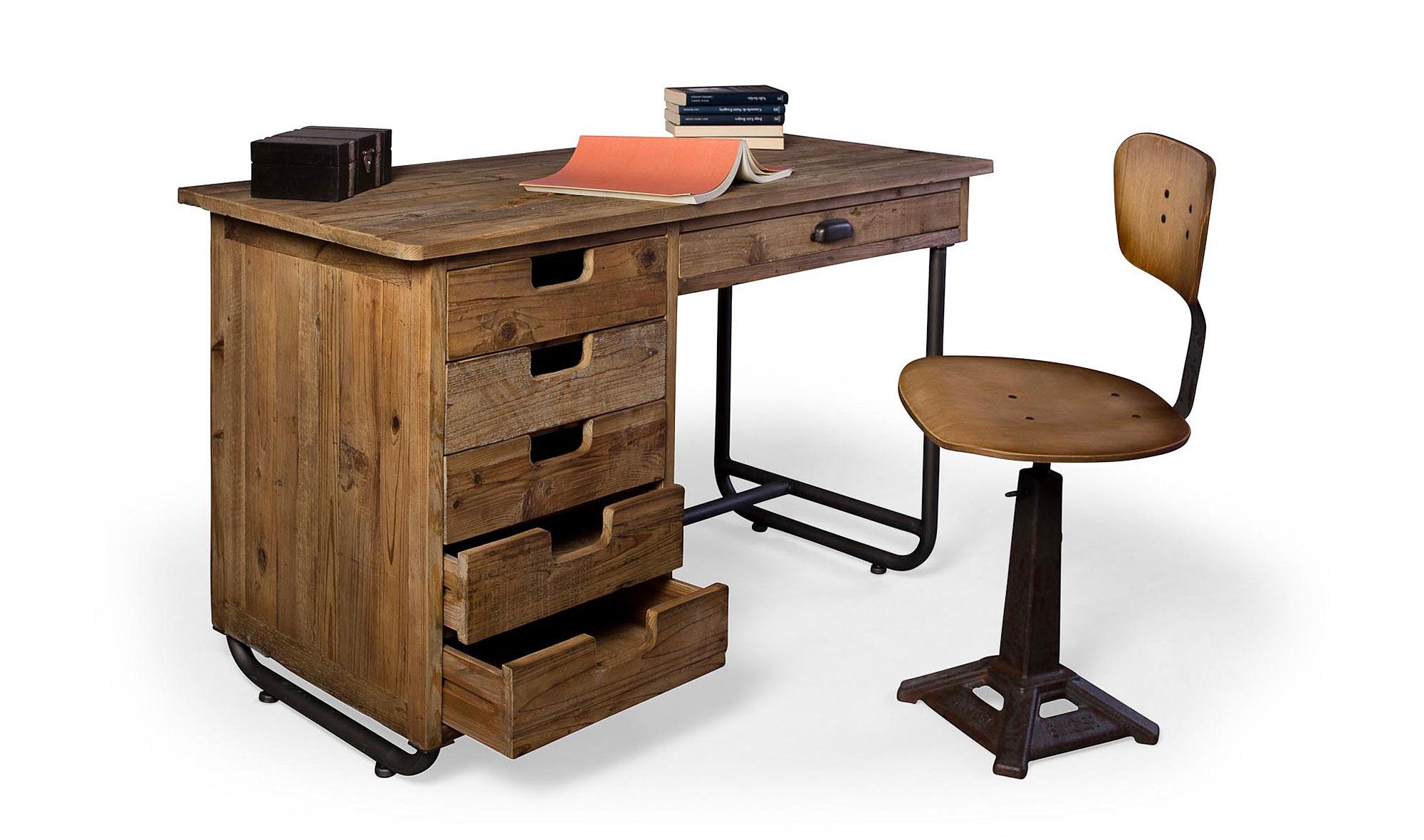 Mesa de escritorio vintage valecay no disponible en for Muebles de escritorio baratos