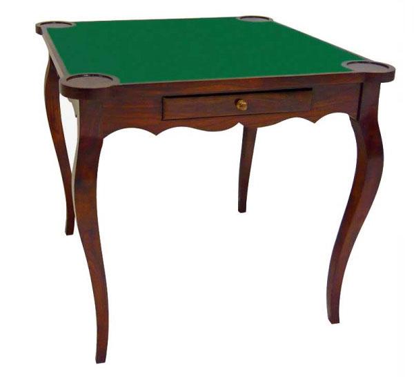 Mesa de juegos colonial esquinas redondas no disponible en for Mesas para esquinas