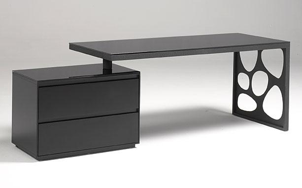 Mesa de oficina raygen con cajonera no disponible en for Muebles de oficina mesas