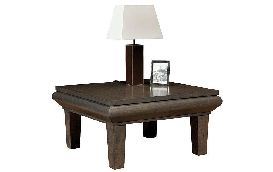 Mesa de rinc n madera moderna lada en cosas de - Mesas de rincon ...