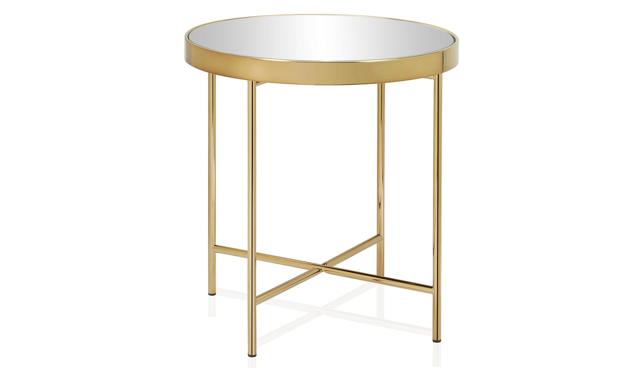 Mesa de rinc n moderna espejo y oro viejo no disponible en - Espejo de mesa ...
