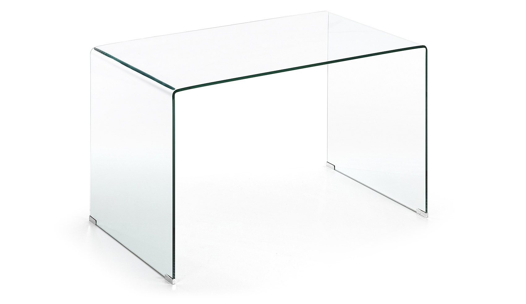 Escritorio burano cristal transparente en - Mesa de estudio de cristal ...