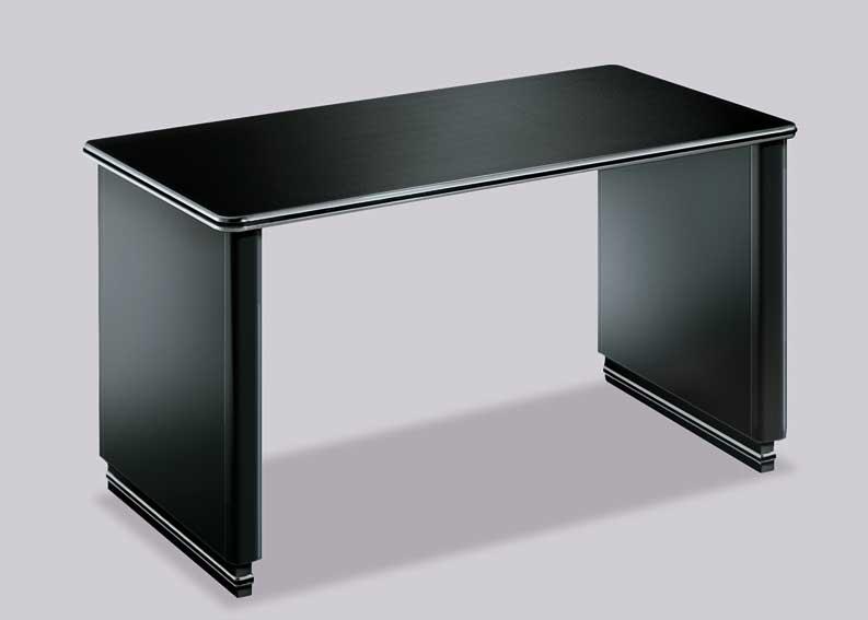 Mesa escritorio l nea cl sica en - Como hacer una mesa de ordenador ...