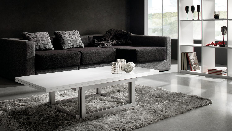 Mesa transformable design en for Muebles transformables