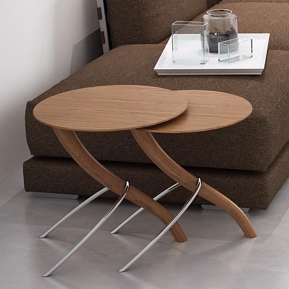 Mesas nido moderna tango no disponible en - Mesitas para salon ...