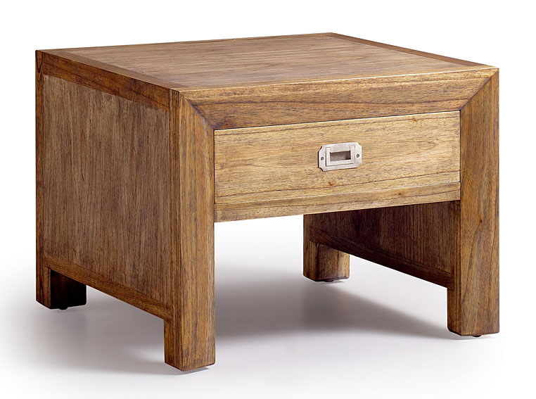 Mesa de rinc n 1 caj n colonial merapi no disponible en for Muebles para bodegas rusticas