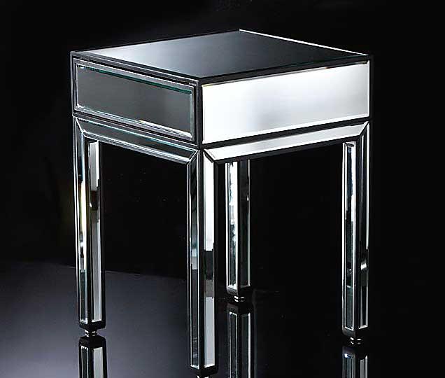 Mesita de noche espejo luton no disponible en - Mesas de noche segunda mano ...