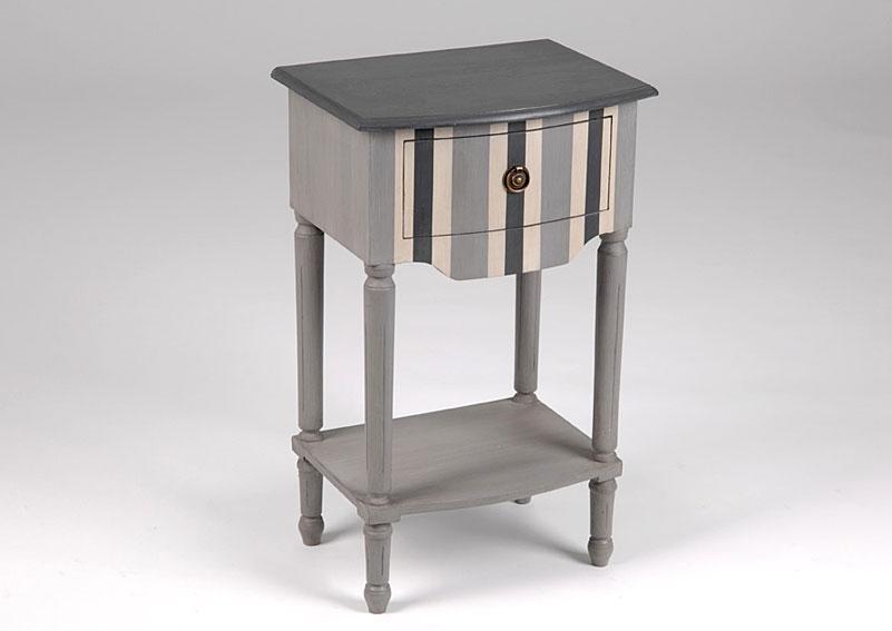 Mesita de noche vintage haussman no disponible en for Amadeus muebles