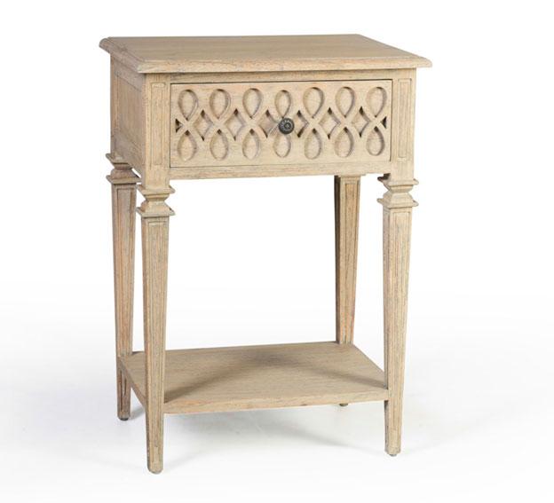 Mesita de noche 1 caj n vintage artisan en for Artisan muebles