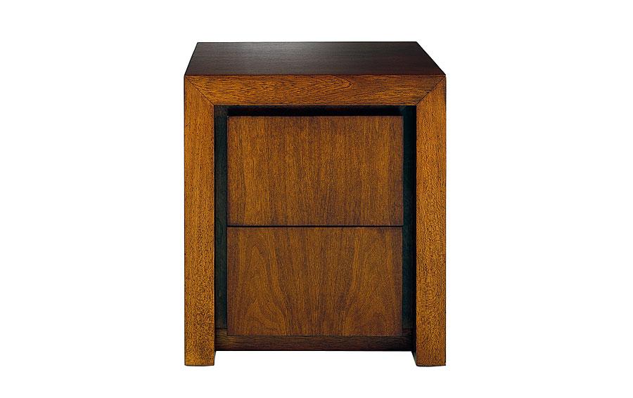 Mesita de noche madera moderna ii rimon en cosas de - Mesita de noche madera ...