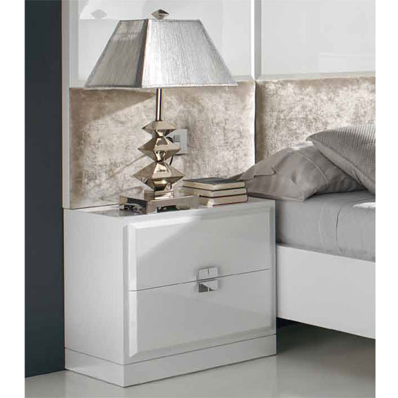 Mesita de noche moderna atenea de lujo en portobellodeluxe - Mesas de noche modernas ...