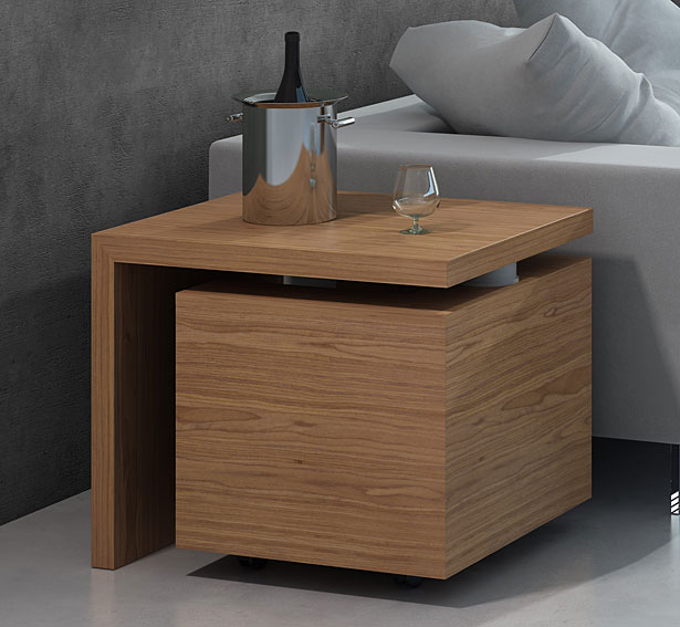 Mueble bar moderno giro no disponible en for Muebles modernos de madera