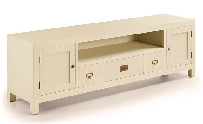 mueble tv colonial blanco jasmine no disponible en