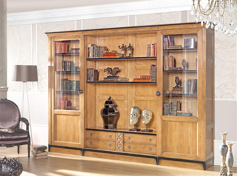 Mueble tv cl sico epinal en - Muebles recibidores clasicos ...