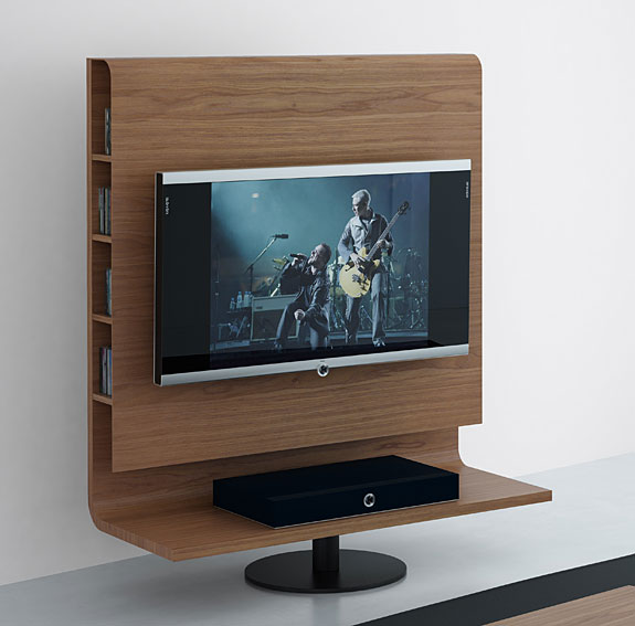 Mueble tv giratorio moderno plasma no disponible en for Mueble television giratorio 08