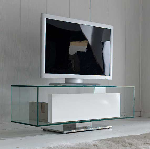 Mueble tv moderno fox en for Muebles de diseno moderno para tv
