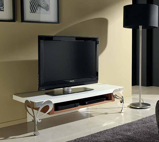 Mueble tv noosa en for Muebles de diseno moderno para tv